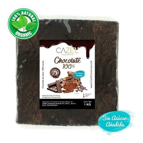 Chocolate Oaxaca Puro Tableta 100% Cacao 4kg