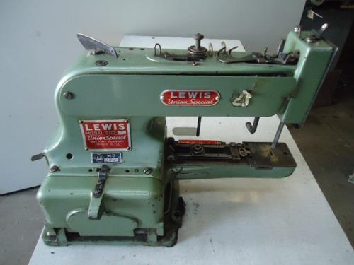 Maquina Costura Industrial Pregar Botão Lewis Union 3697