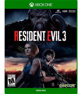 ..:: Resident Evil 3 Remake ::.. Para Xbox One En Gamewow