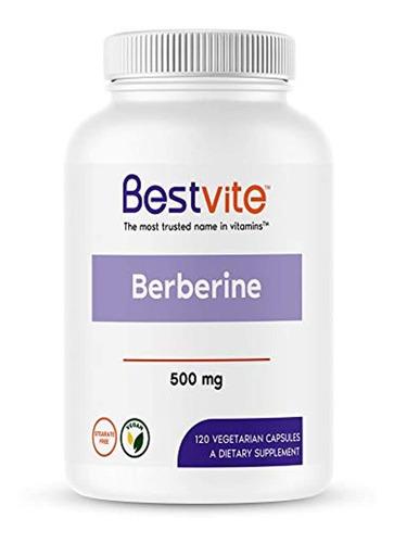 Berberine 500mg (120cápsulas Vegetarianas)