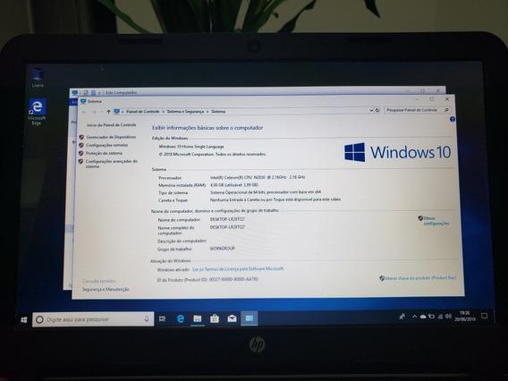 Notebook Hp Intel Celeron