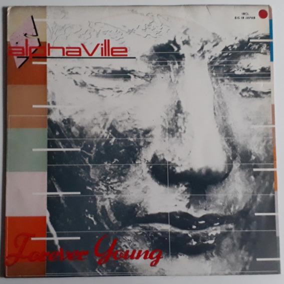 Lp Alphaville/forever Young/1985/com Encarte/bom Estado