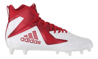 Tachos Cleats adidas Freak X Carbon Mid Rojo #10.5mx=30.5cm