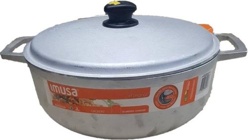 Caldero Imusa 26 Cm Con Tapa 4.5 Litros Aluminio Fundido