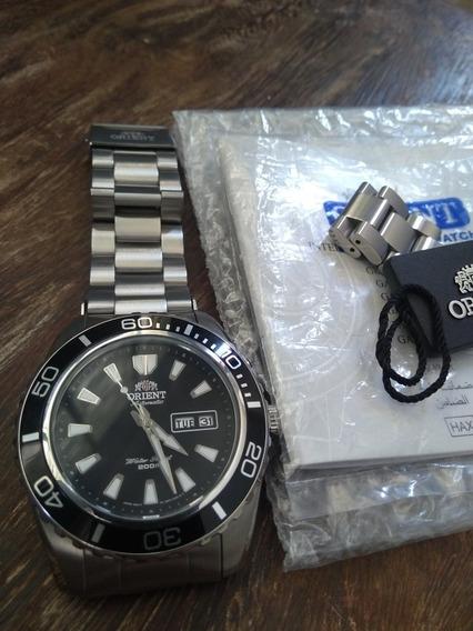 Relógio Orient Mako Xl Preto