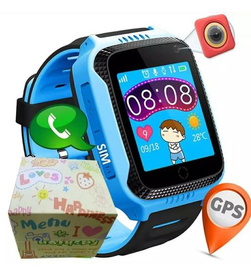 Relógio Infantil Rastreador Localizador *pronta Entrega*