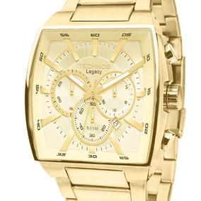 Relógio Technos Legacy Quadrado Js25al/4x Original + Nota