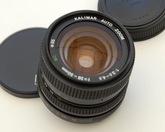 Lente Kalimar 28-50mm. F1:3.5-5.6 (para Olympys)