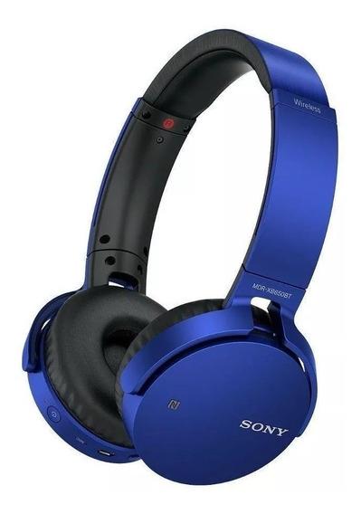 Fone Ouvido Headphone Sony Bluetooth Mdr-xb650bt Promoção!