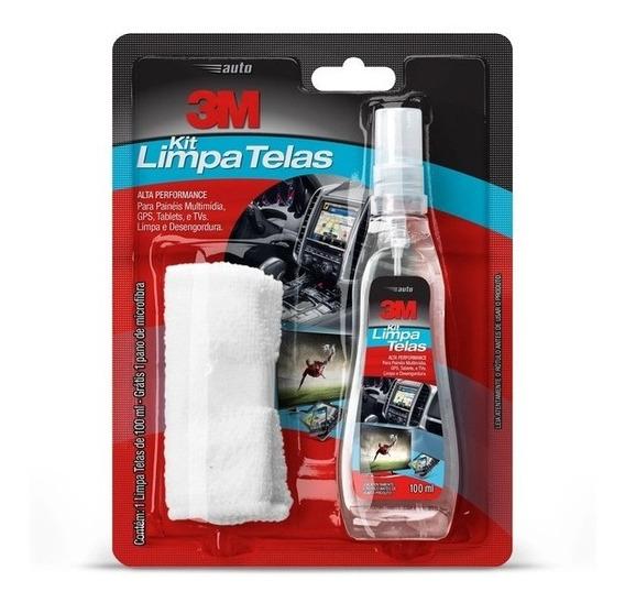 Limpa Telas Celular Notebook Monitor Lcd 100ml 3m