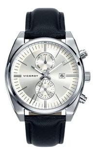 Reloj Hombre Viceroy 40411-07 Multifuncion Wr 30m Acero Inox