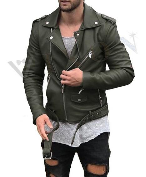 Campera Hombre Eco Cuero Modelo Exclusivo Rockstar