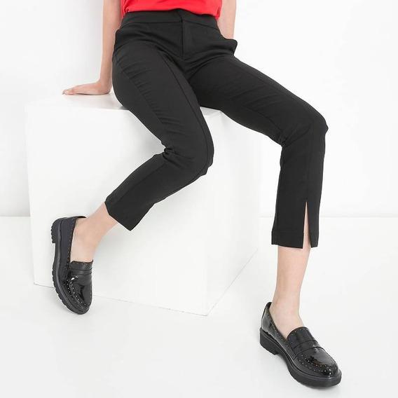 Pantalon De Vestir Con Tajo Basement - Nuevo