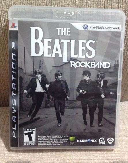 Jogo Ps3 Mídia Física - The Beatles: Rock Band