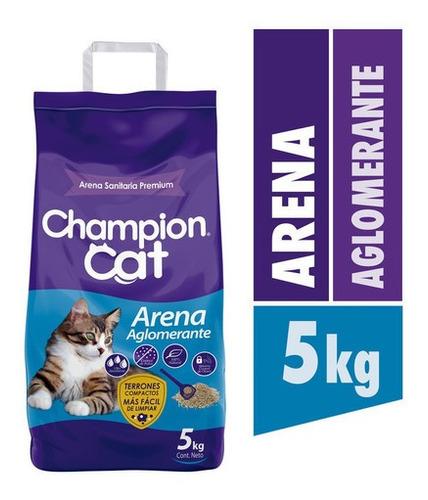 Champion Cat Arena Sanitaria Aglomerante 5 Kg
