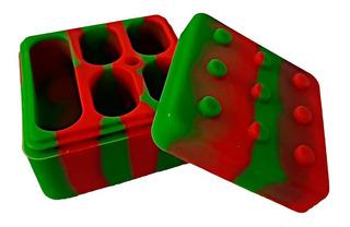 Contenedor Silicona Wax Box Cuadrado #2 Grande 3ml