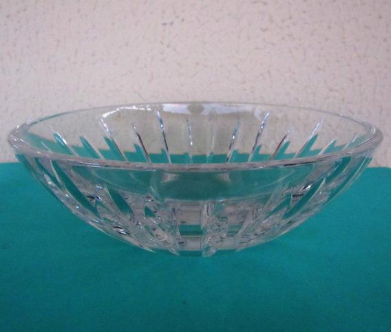 Tigela Bowl Centro De Mesa De Vidro Vidrão Rasa