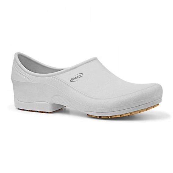 Sapato Flip Impermeável Branco Com Solado De Borracha Nº 36-