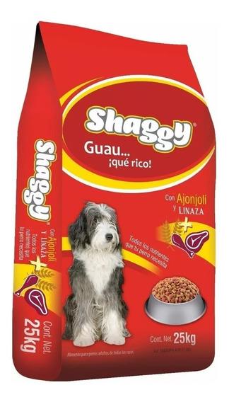 Shaggy Adulto 25kg Alimento Para Perro