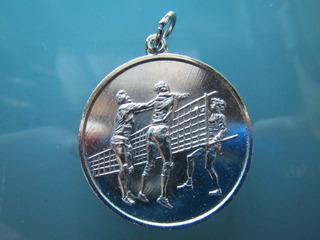 Medalla Deportiva Voley 35 Mm