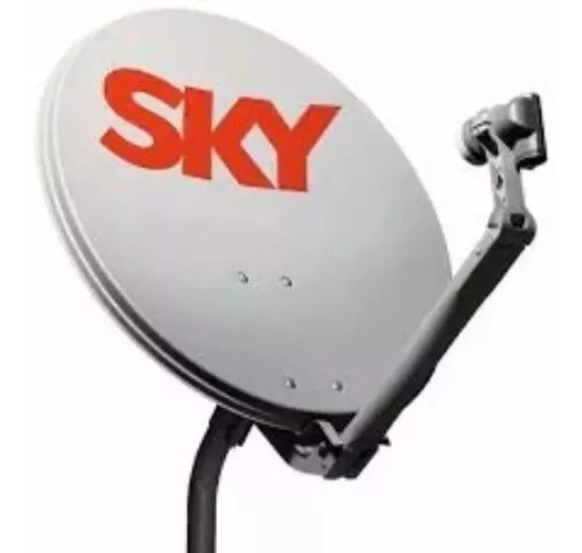 4 Antenas Sky Ku 60 Cm Completa Lnb Universal Pronta Entrega