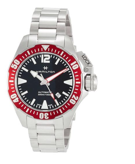 Reloj Hamilton Khaki Navy The Frogman !!30% De Descuento¡¡