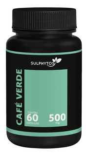 Café Verde 60 Caps. 500mg Sulphytos