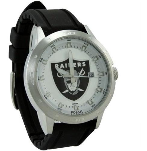 Relógio Fossil Oakland Raiders Nfl Original Colecionador