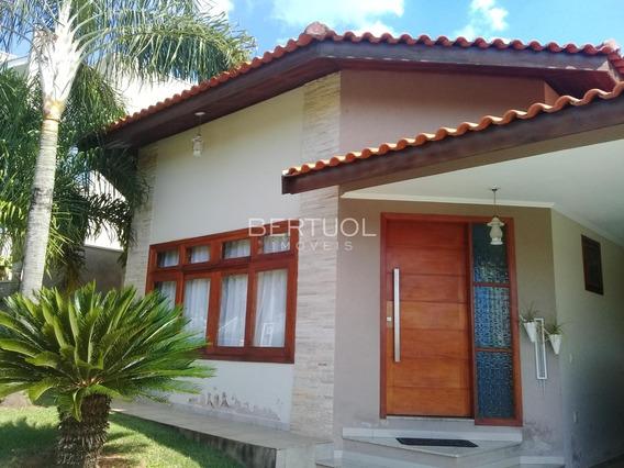 Casa À Venda Em Condomínio Terras De Vinhedo - Ca007095