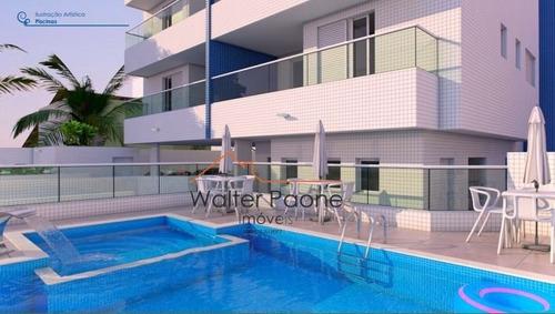 Apartamento A Venda No Bairro Centro Em Itanhaém - Sp.  - Wcm369-1