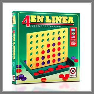 4 En Linea,juego De Estrategia. A Partir De 7 Años. Ruibal.