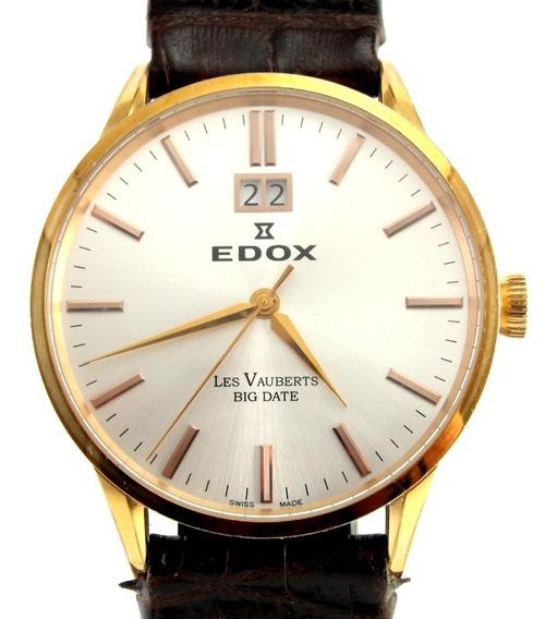 Relógio Edox Mod: Les Vauberts - Masculino / Social