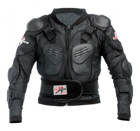 Pechera Chaleco Protector Moto Pro Biker Urquiza Motos