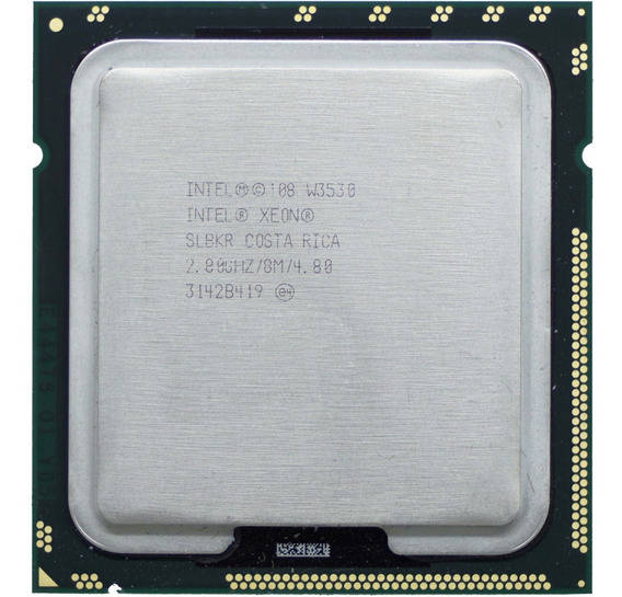Cpu Xeon W3530 4/8 Cache De 8 M, 2,80 Ghz Lga 1366