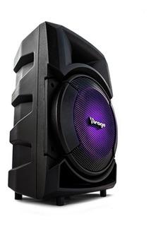 Vorago Bafle Ksp-300, Bluetooth, Inalámbrico, 30w Rms, Usb,