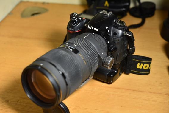 Câmera Nikon D7000 + Lente 70-200 F 2.8 Autofoco