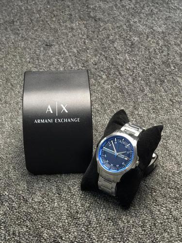 Relógio Armani Excheger Ax 2408 Azul