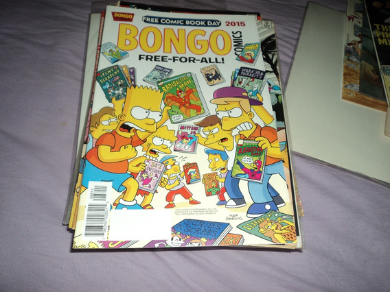 Os Simpsons Free Comic Book Day Especial Quadrinhos Raros