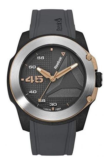Reloj Análogo Marca Reebok Modelo: Rdhayg2cbiaa3 Color Negro