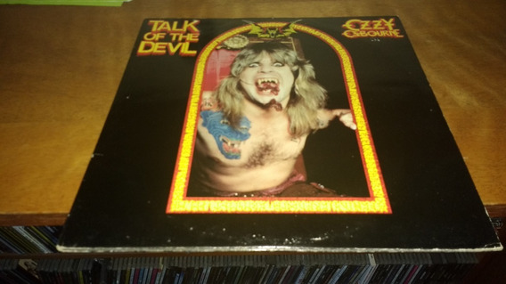 Ozzy Osbourne Talk Of The Devil 2lp Original Jet Uk 1982