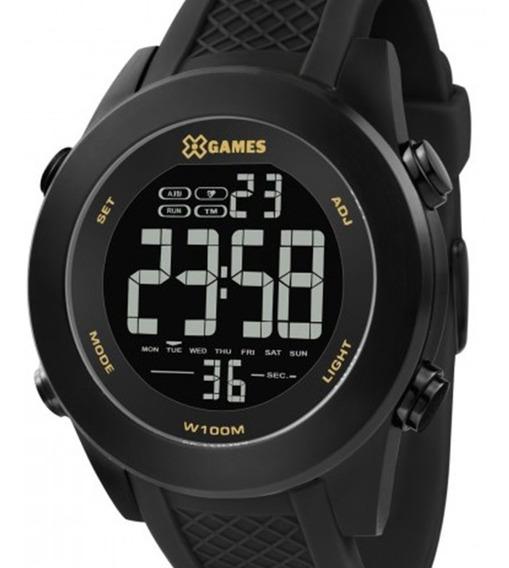 Relógio X Games Masculino Xmnpd001 Pxpx Negativo Preto + Nf