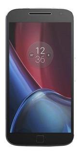 Motorola Moto G4 Plus Preto Vermelho Usado Excelente C/ Nf