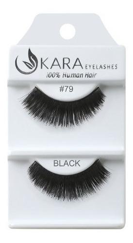 Imagen 1 de 2 de Kara Belleza Cabello Humano Pestañas  79 Paquete De 12
