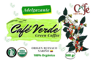 Café Para Adelgazar 500 Gr Café Adelgazante Molido Alianza