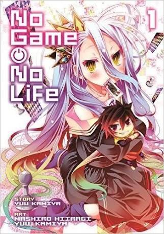 Mangas Vol 1: No Game No Life. 5cm Por Segundo.
