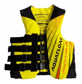 Chaleco Jet Ski/moto De Agua 4 Tiras Aquafloat Talle 4 A 16