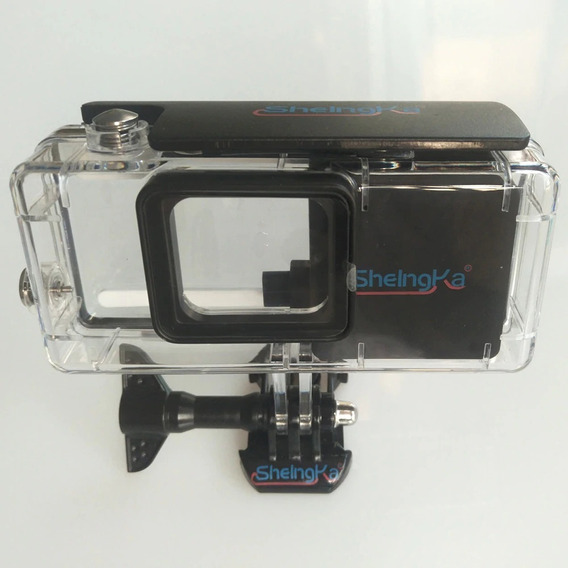 Case Gopro Hero5 6 7 Bateria Estendida 2300mah Prova D
