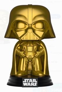 Funko Pop Star Wars 157 Darth Vader Dorado Walmart Exclusive