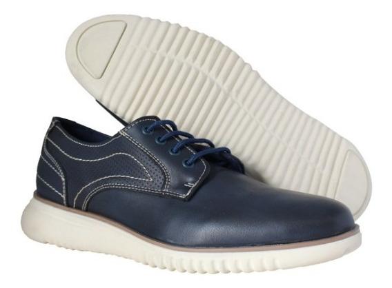 Zapatos De Caballero Casual , 6015 Azul Marino Via Urbana