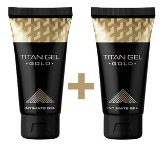 Pack 2 Titan Gel Gold Original